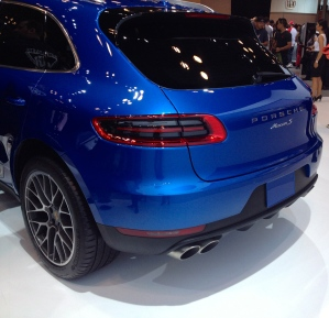 The new Porsche Macan.