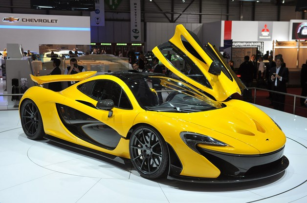 The all- new McLaren P1