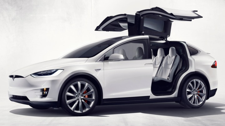 Tesla's latest vehicle, the Model X.